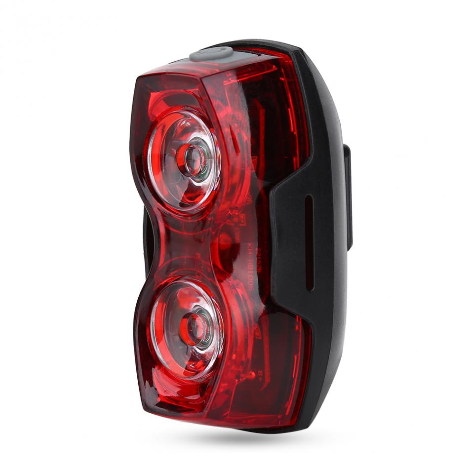 Safety Warning Headlight Led Bicycle Taillight 1000 m Cycling Light Moutain Road Bike Rear Saddle Lamp 3 Models(China)