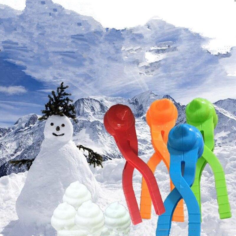 2018 Neue Schneeball Clip Zu Spielen Mit Schnee Werkzeuge Snowball Fights Kinder Spielzeug Verdickung Clip Kunststoff Schnee Ball Clip Winter Spielzeug Durch Wissenschaftlichen Prozess