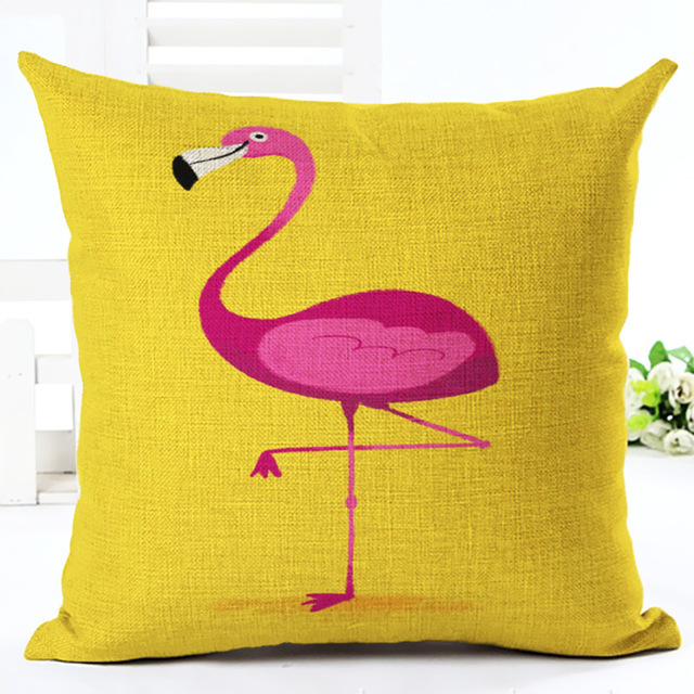 . US  3 7 10  OFF GZTZMYFlamingo Bedding Decorative Pillows for Sofa Creative  Home Flamingo Decor Pink Flamingo Decoration Flamingo Cushion Pillow in