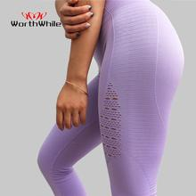 Seamless Legging Sportwear-Pants Foot-Tights Gym Fitness High-Waist Women Super-Stretchy