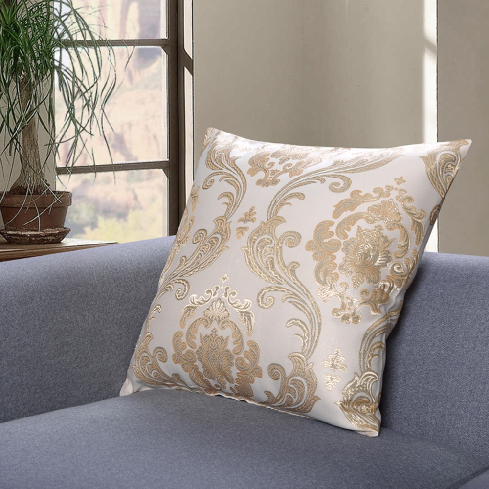 gold cushion covers