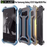 R JUST Gundam For Samsung Galaxy S7 S7 Edge Case Original Design Armor Shell Metal Aluminum