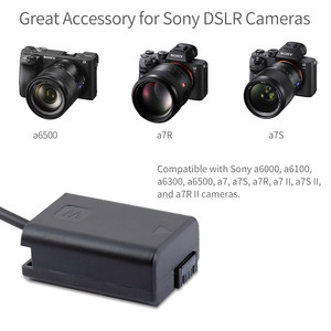 Image 5 - FEELWORLD F5 MA5 F6 A6 NP FW50 Factice Batterie Compatible avec Sony a6000 a6100 a6300 a6500 A7 A7S A7R a7 II a7S II a7R II Caméra