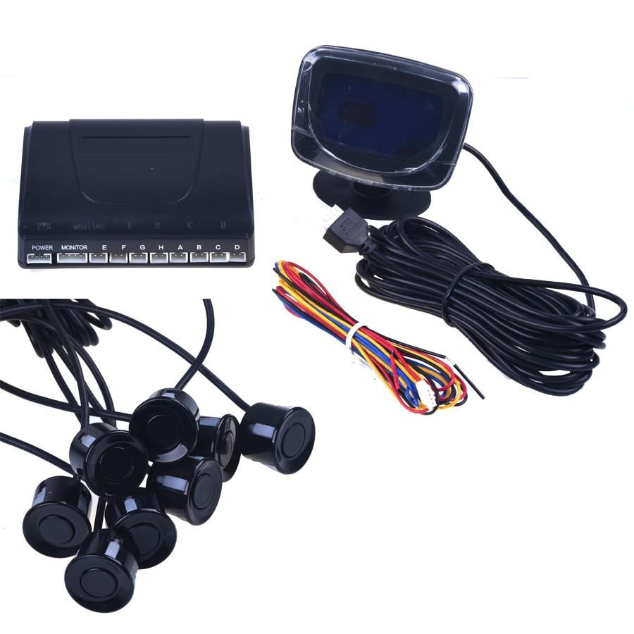 Avtomobil dayanacağı Sensoru tərs geri yedəkləmə radarı LCD - Avtomobil elektronikası - Fotoqrafiya 3