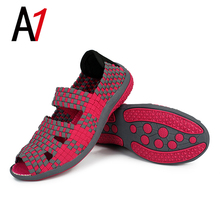 2017 Listed on the new comfortable breathable women casual shoes for women's shoes non-slip wedges sandals limited-time discount