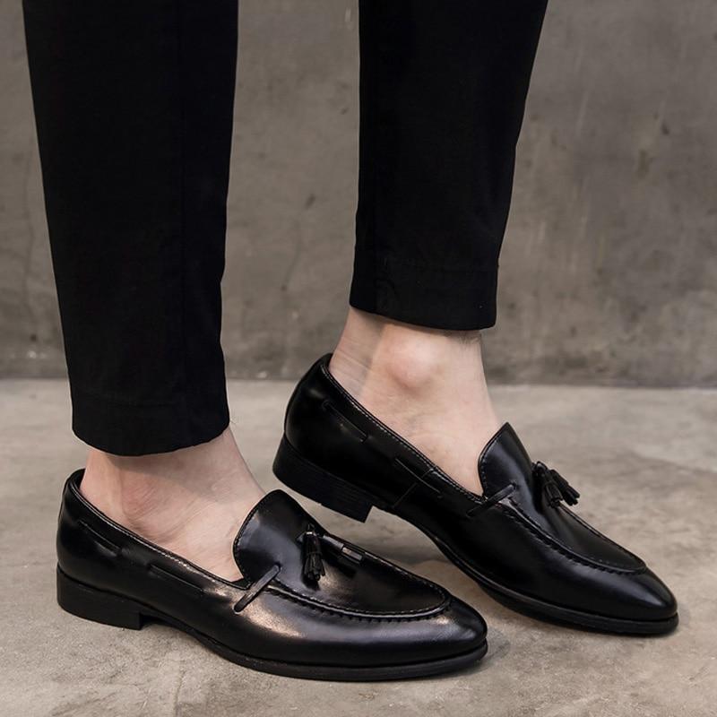 8d1a529239 Comprar Zapatos De Charol Con Borla Para Hombre