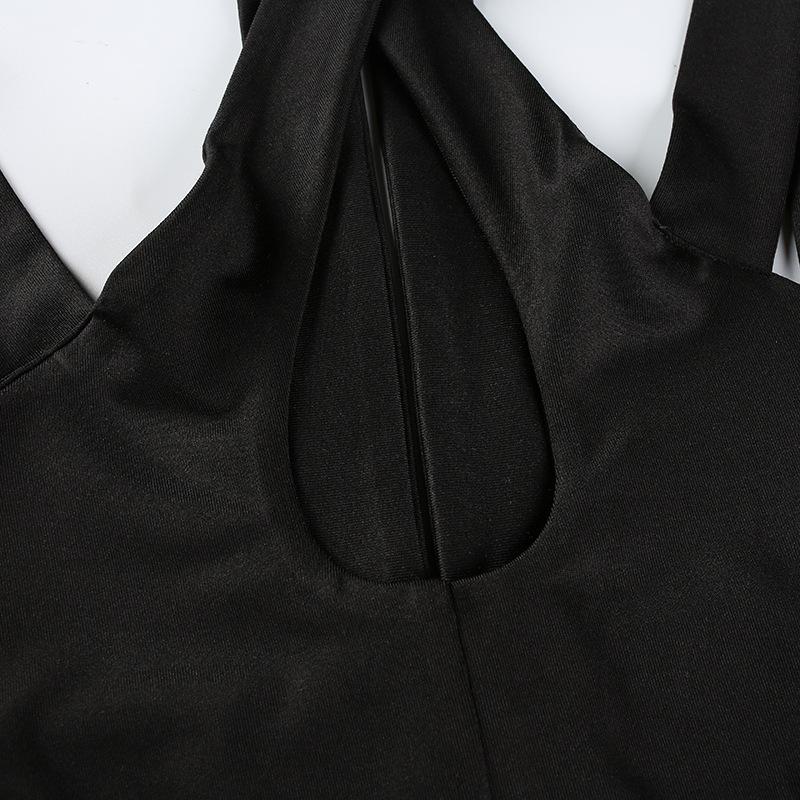 HTB152SdXC3PL1JjSZPcq6AQgpXan - FREE SHIPPING Push up Bralette Crop Top Bandage Black JKP235
