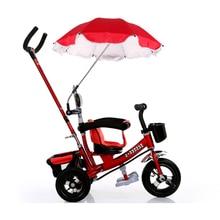 Stroller Umbrella Pushchair Baby Pram Parasol Sun Protection Umbrella Shade Pram Shade Parasol Adjustable Stroller Accessory