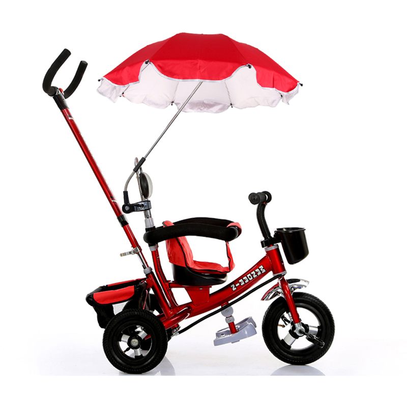 Stroller Umbrella Pushchair Baby Pram Parasol Sun Protection Umbrella Shade Pram Shade Parasol Adjustable Stroller Accessory