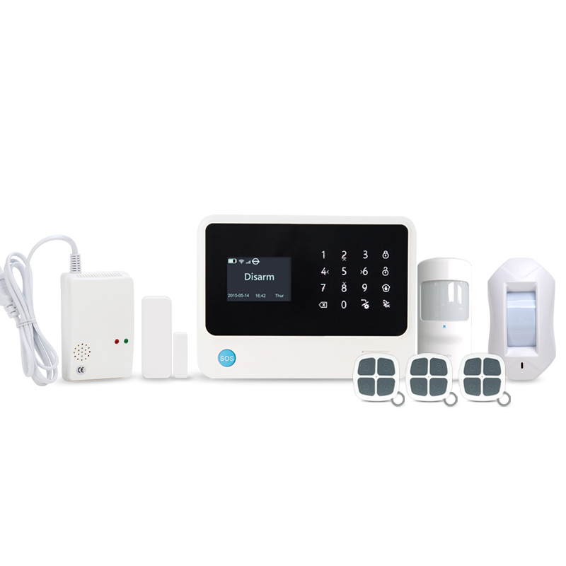 433MHz Professional Contact ID/SIA GSM WIFI GPRS alarm system home security smart home system ifttt setting and scene setting arduino atmega328p gboard 800 direct factory gsm gprs sim800 quad band development board 7v 23v with gsm gprs bt module