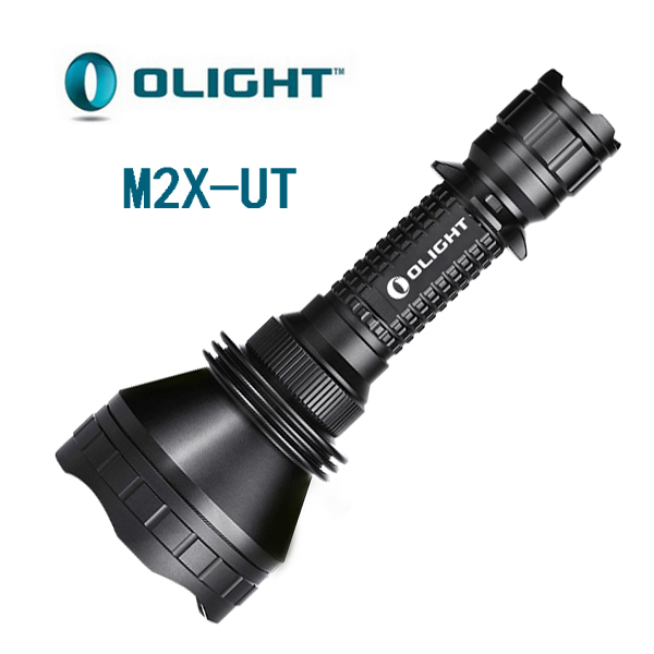 Olight M2X UT XM-L2 led torch extended-range variable-output 1020 lumens 3 mode LED flashlight