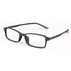 Image 4 - Reven Jate 7011 Full Rim Flexible Frame Pure Titanium Super Light Temple Legs Prescription Eyeglasses Frame Optical Glasses