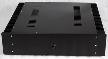 WA16 All aluminum amplifier chassis / Preamplifier case / AMP Enclosure /DIY box (463 *110*412mm)