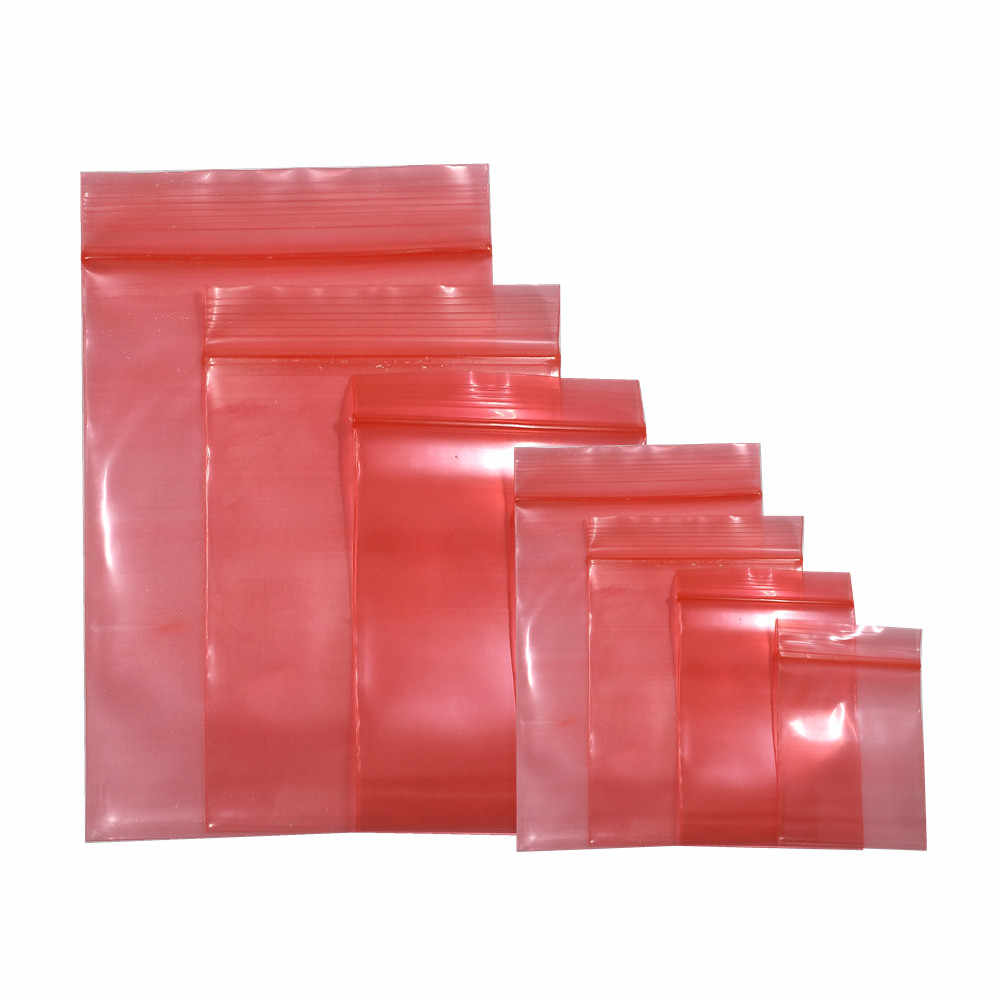Antistatic Shielding Bag Zip Lock Resealable Pouch Electronic Accessories Packing ESD Anti-Static Bag Moisture Proof Pack Sachet
