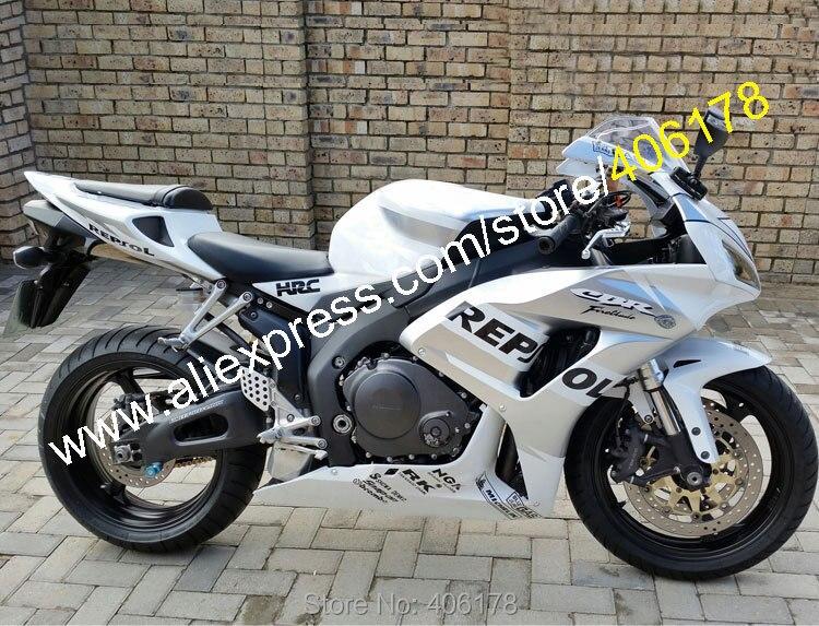 Ventes chaudes, Pour Honda Carénage CBR1000RR 2006 2007 CBR1000 06 07 CBR 1000RR CBR 1000 Repsol ABS Carénage Kit (moulage par injection)