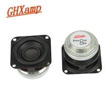 GHXAMP 1.5 インチ 10 ワットポータブル Bluetooth スピーカー 4OHM フルレンジスピーカーミニネオジム MID ウーファーホームシアター Diy ハイファイ 2 個
