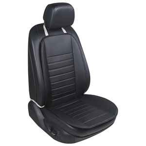 Image 2 - Car waist cushion car green leather wear breathable and comfortable car seat four general Car seat cushion cover