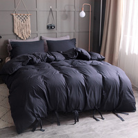 Bedding Sets Gift Bed Luxury 4 Size Duvet Cover New Duvet Cover Sets Black Quilt Cover Home Furnishing Bedding Cover Set