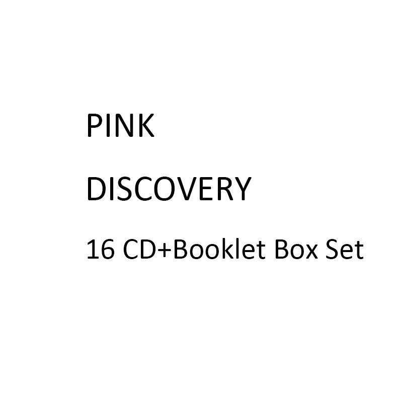 PINK DISCOVERY 16 CD + caja de folletos Set The Complete Studio Recordings colección DROP SHIPING aceptar gastos de envío gratis