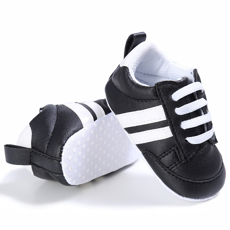 Hot Sale Fashion Baby Shoes Toddler First Walker Baby Moccasins PU Leather Soft Soled Babe Girls Sneakers Newborn Boys Footwears