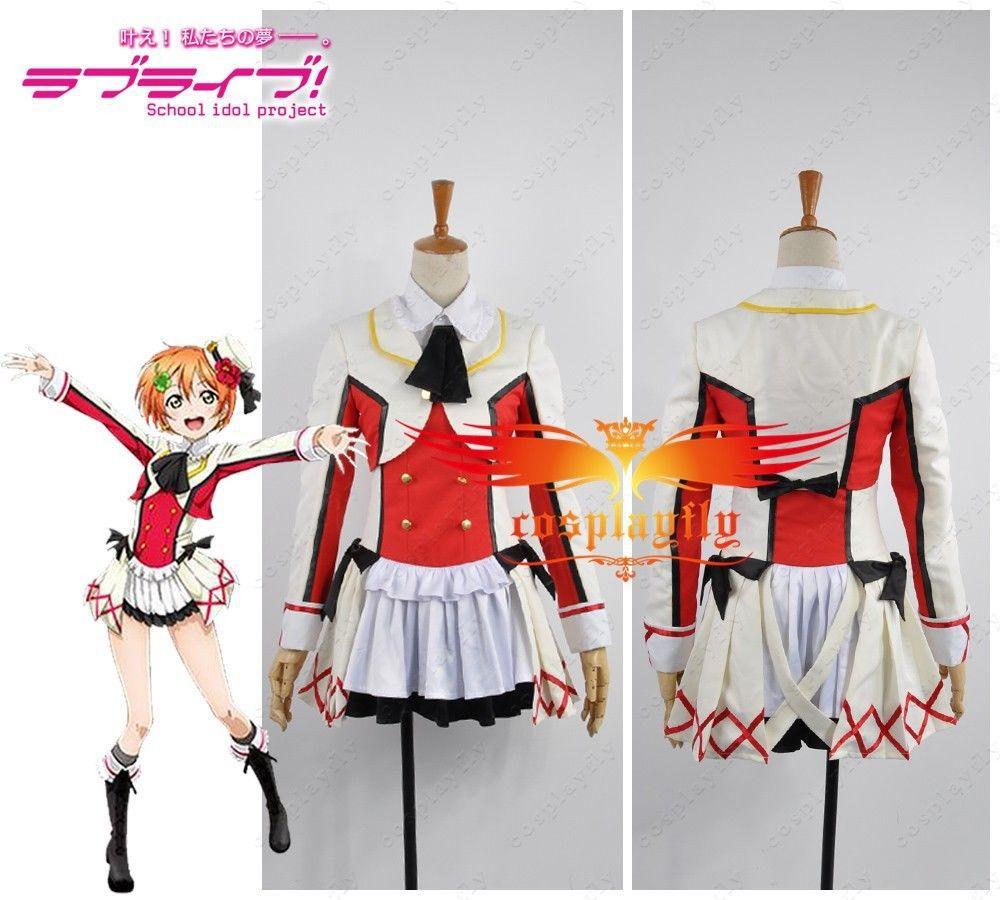 Love Live School Idol Project A Dream Rin Hoshizora Cosplay Costume Custom Any Size Skirt Women Academy Uniform