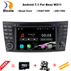 Android 5 1 1 Two Din 7 Inch Car DVD Player For E Class W211 Mercedes