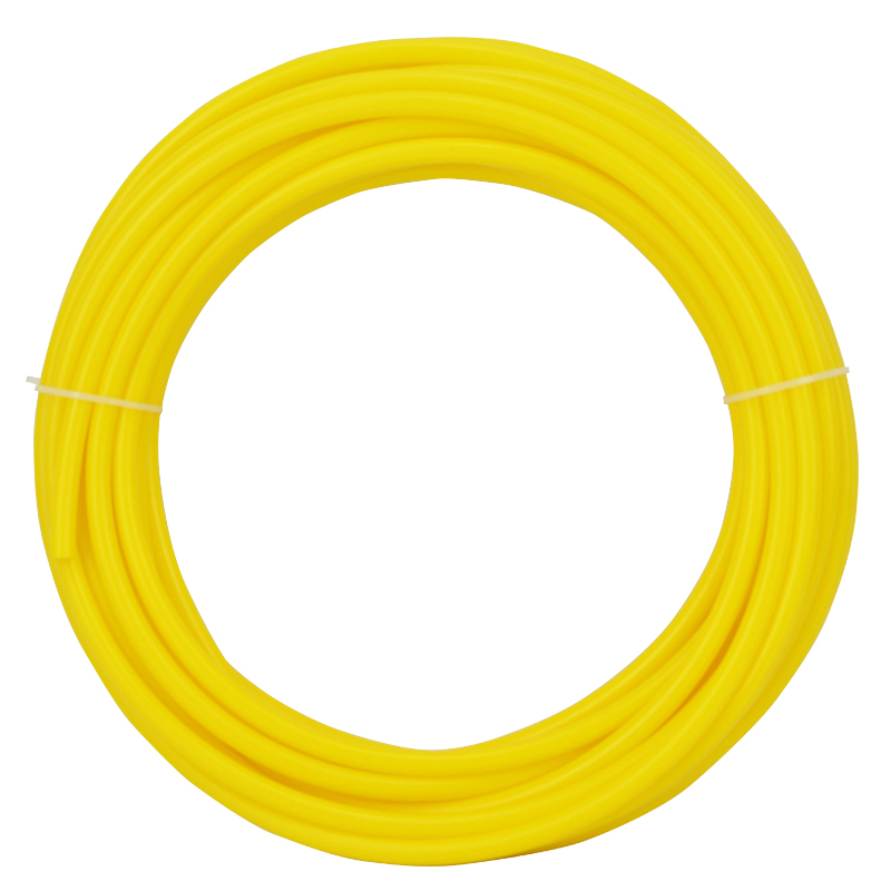 Yellow Tubing 1/4'' Inlet Hose 10 Meters Length Water Tube RO Water Filter System Use Fridge Ice Makers Connect Pipe 1meter transparent food grade medical use fda silicone rubber flexible tube hose pipe tubing