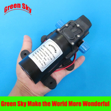 5.5L/Min. 80W high pressure diaphragm water pump 12V DC spray