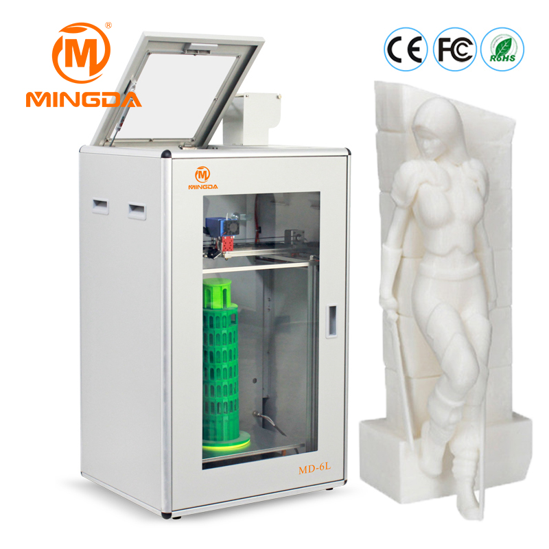 MINGDA Industrial 3D Printer Machine High Precision Desktop 3D Printing Machine Large Build Size 400*300*500mm Impressora 3D promotion price mingda new glitar 6c 300 200 600mm big 3d printer machine large 3d printing machine with touch screen lcd
