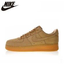 e0ee7c438d Novo de Alta Qualidade Nike Air Force 1 Baixo 07 Linho Homens e Mulheres Skateboarding  Sapatos