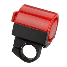 Good deal Bicycle Accessory Bike Electronic Bell MTB Road Bike Loud Horn Cycling Hooter Siren 360 Degree Rotation red