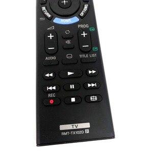 Image 2 - جديد RMT TX102D التحكم عن بعد لسوني led تلفزيون LCD الذكية tv RMT TX102D RMT TX100D RMT TX102U