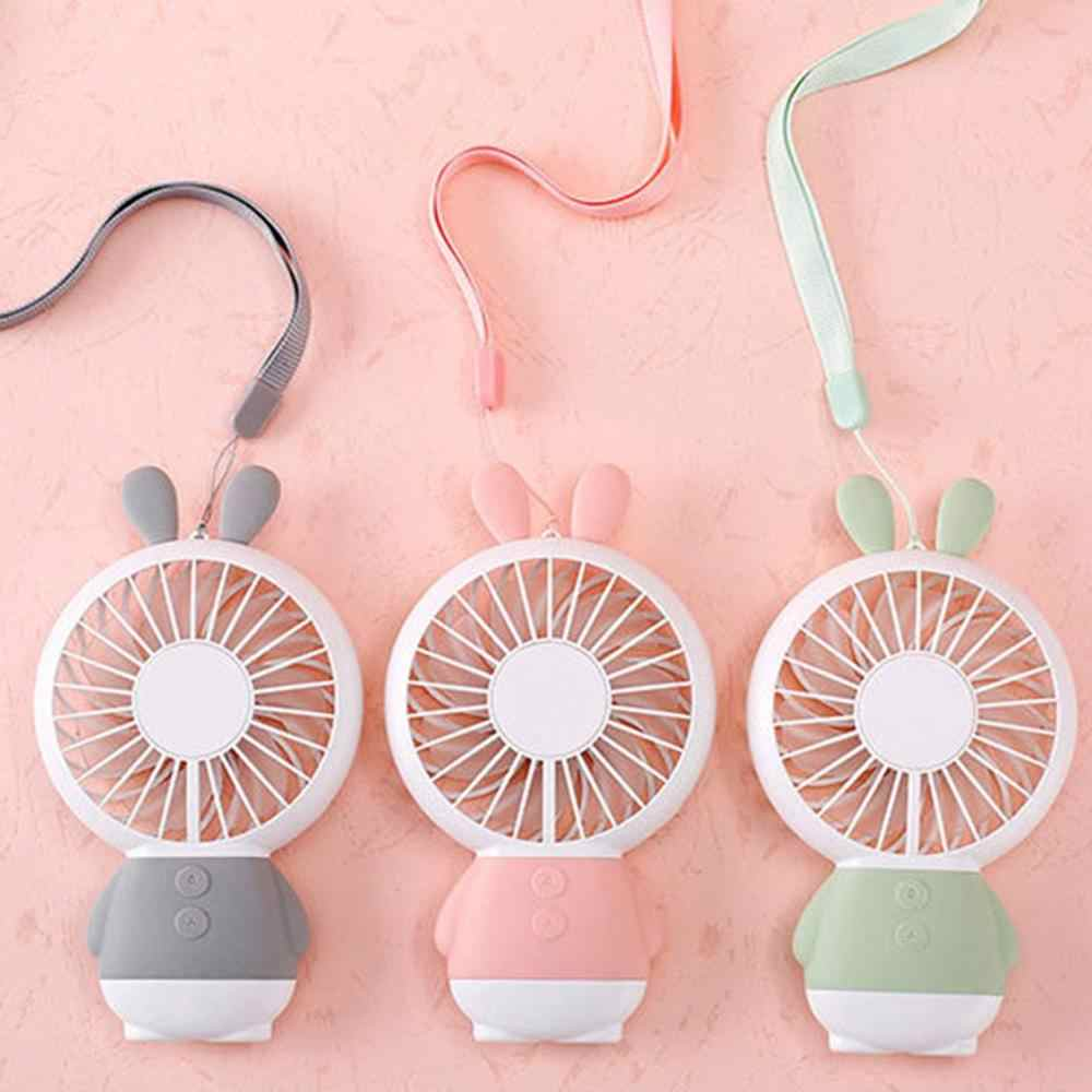 Handheld Usb Fan Cooler Portable Kipas Angin Mini Isi Ulang 800 M Ah Berguna Meja Kecil Desktop USB Cooling Fan Dropshipping