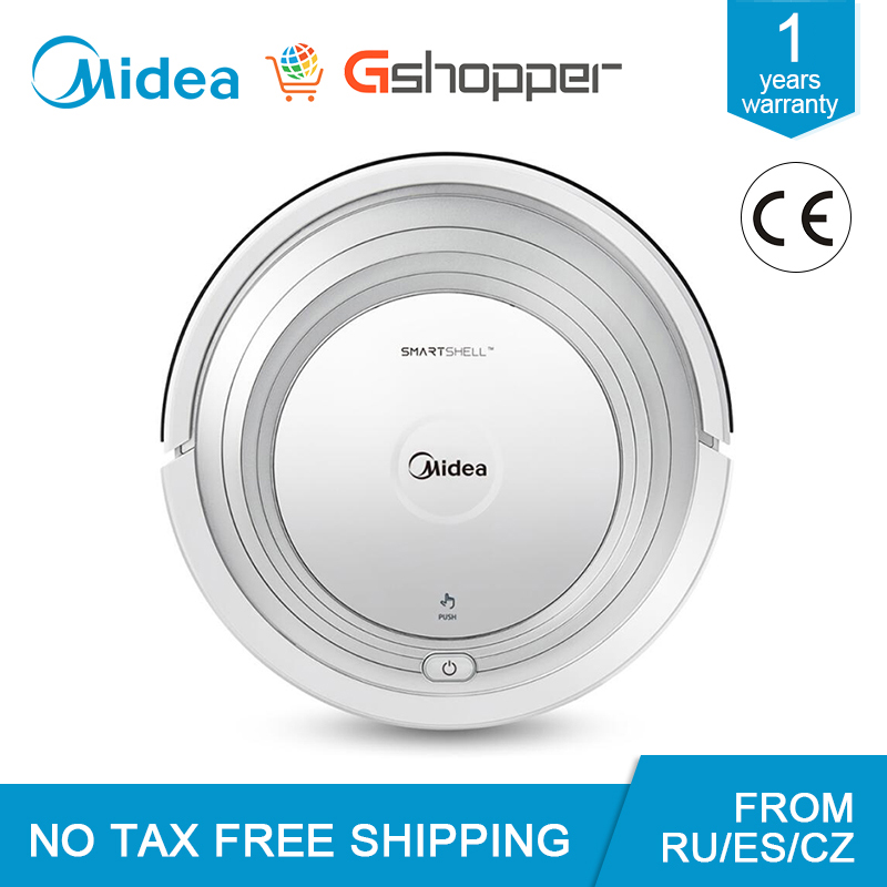 Midea MR01 Robot Vacuum Cleaner Remote Control Multi-mode Anti-collision And Anti-fall Self-recharging