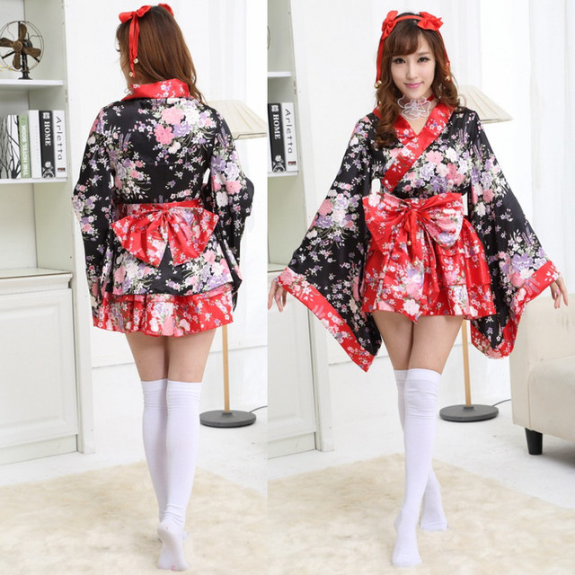 Vestido fiesta con kimono