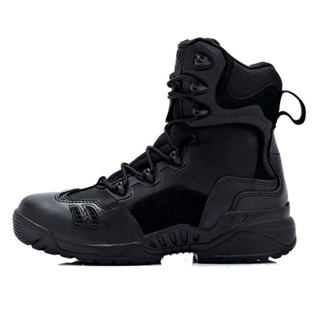 Military Tactical Combat Outdoor Sport Army Men Boots Desert Botas Hiking Autumn Winter Shoes Travel Leather High Boots Male