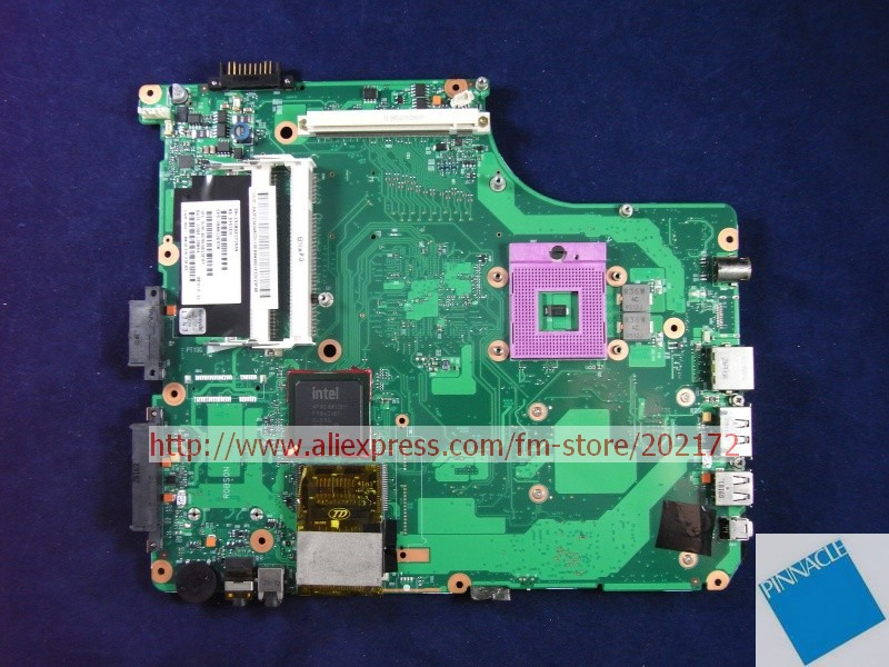 V000125950 Motherboard for Toshiba Satellite A300 A305 6050A2171501 nokotion sps v000198120 for toshiba satellite a500 a505 motherboard intel gm45 ddr2 6050a2323101 mb a01