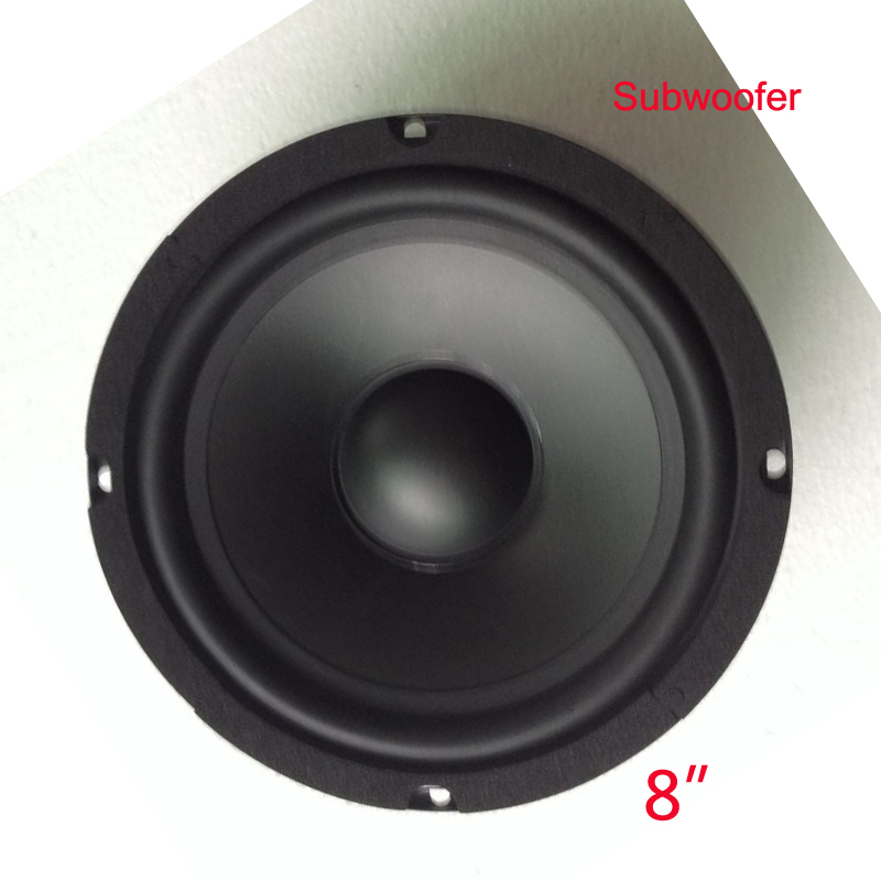 HiFi System Full Range  Speaker 1pc 8 Inch  8 Ohm 400 W Mid-range HIFI End Theater Karaok Audio Louder  Subwoofer Speaker Box