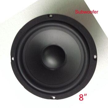 HiFi System Full Range Speaker 1pc 8 inch 8 Ohm 400 W Mid-range HIFI End Theater Karaok Audio Louder Subwoofer Speaker Box