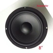 Alto-falante hifi com alcance médio, sistema de alta fidelidade, 1 peça, 8 polegadas, 8 ohm, 400 w, alta fidelidade, final de alta fidelidade, teatro, karaok caixa de som subwoofer mais alto áudio
