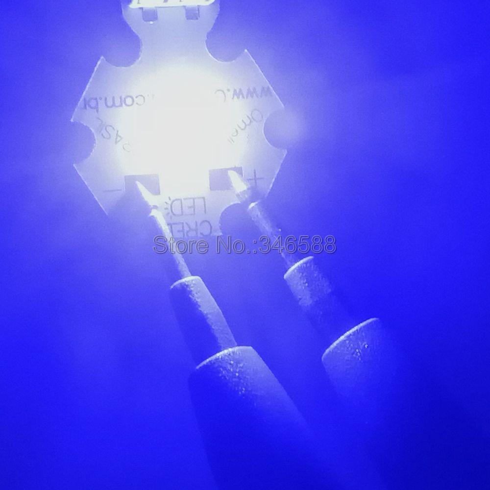 10pcs / lot! Cree XLamp XT-E XTE 5W Royal Blue 450NM - 452NM LED - Pribor za razsvetljavo - Fotografija 3