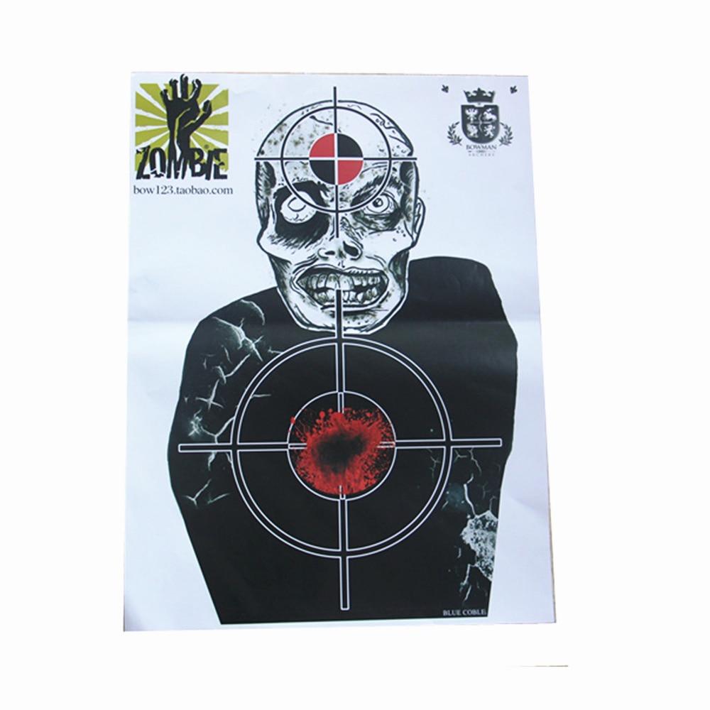 Objetivos de tiro al papel objetivo del objetivo y objetivos de - Caza - foto 2