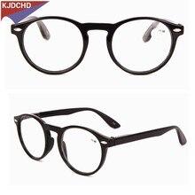 2018  Fashion Reading Glasses Men Women Classic Plastic Frame Eyeglasses with Presbyopia