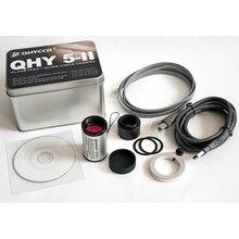 QHY5L-II-M монохромный CMOS Планетарная камера Autoguider 74% эквалайзер QHY5L-IIM QHY5L-IIC