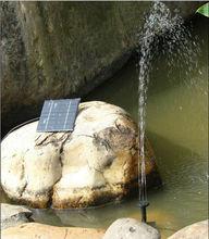 Солнечный Погружные Фонтан 160 L/H Водяной Насос Комплект Системы W/1.2 Вт Панели Солнечных Батарей