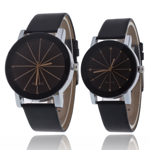 2018 New Top Brands Men's & Ladies Watches Simple & Elegant Fashion Couple Watch