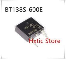 10 ピース/ロット BT138S 600E に BT138S 600 252 トライアック敏感ゲート DPAK BT138S600E BT138