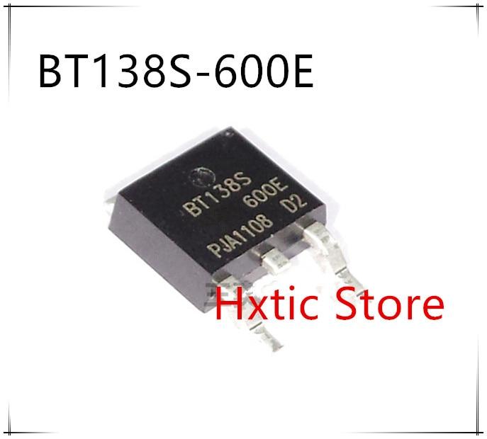 10pcs/lot BT138S-600E BT138S-600 TO-252 TRIACS SENSITIVE GATE DPAK BT138S600E BT138