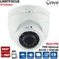 Ip-камера 960 P 30 М ИК Расстояние 2.8-12 зум-объектив P2P Плагин & Play ONVIF водонепроницаемая камера открытый CCTV IP Купольная Камера 1.3MP Камера IP