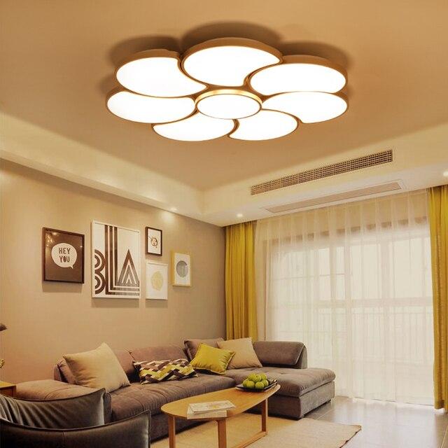 Wohnzimmer Deckenle moderne deckenleuchten acryl lenschirm laras de techo